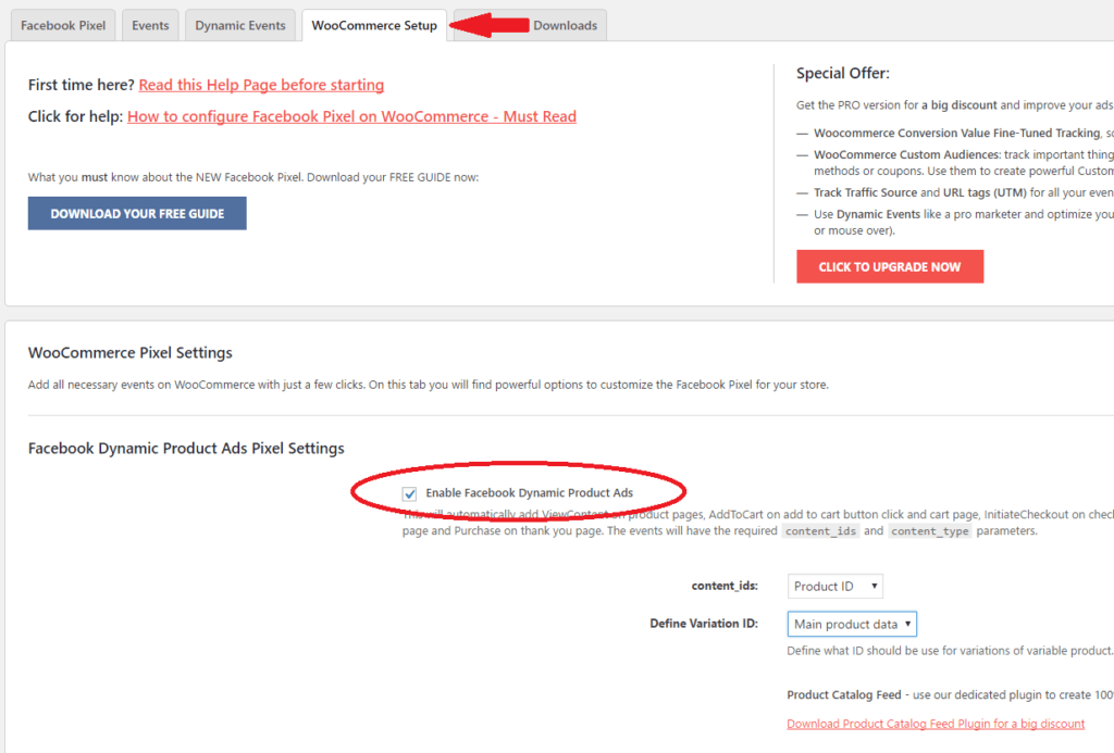 WooCommerce Facebook Pixel Setup