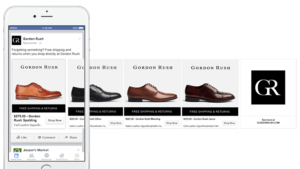Facebook Dynamic Product Ads Example