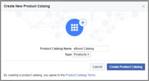 Create Facebook Catalog