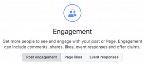 Facebook Ads Engagement Objective