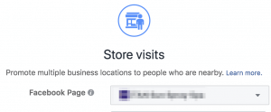 Facebook Ads Store Visits Objective