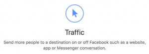 Facebook Ads Traffic Objective