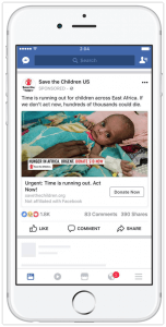 Facebook Image Ad Example
