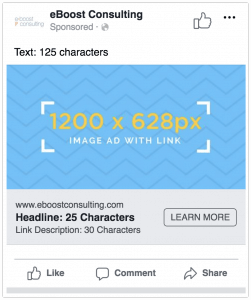 Facebook Image Link Ad Dimensions