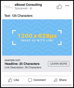 Facebook Link Ad Image Size