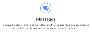 Facebook Messenger Ads Messages Objective