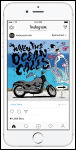 Instagram Carousel Ad Example