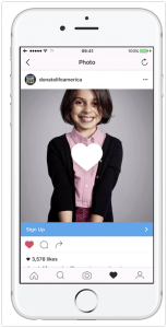 Instagram Image Ad Example