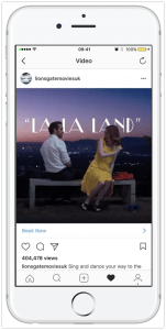 Instagram Video Ad Example