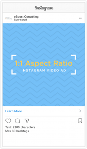Instagram Video Ad Specs