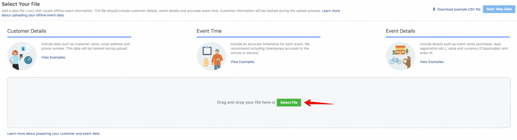 Upload Facebook Offline Events