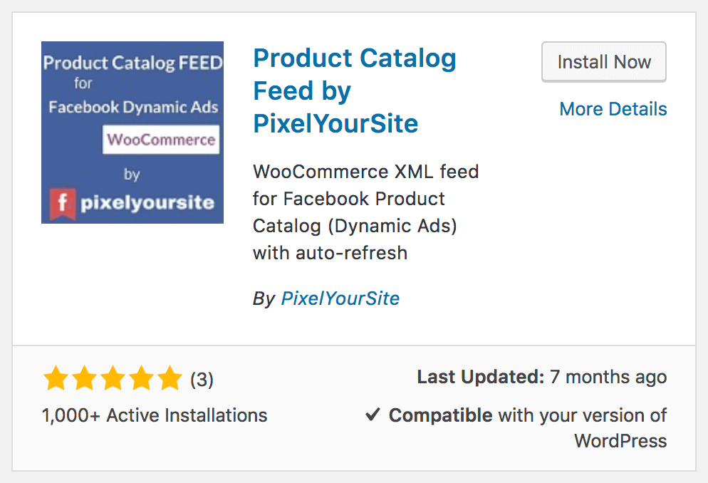 WooCommerce Facebook Product Feed Plugin