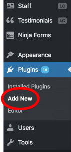 Wordpress Add New Plugin Facebook Feed