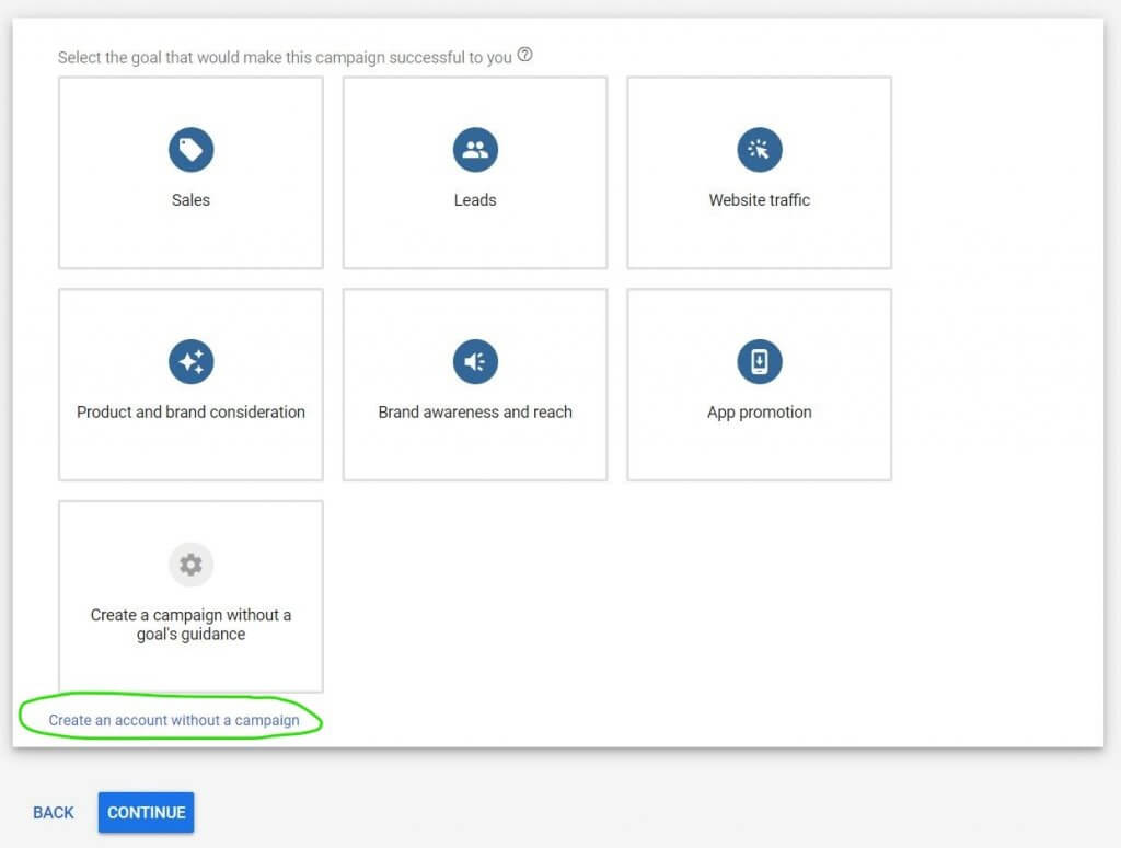 Creating a New Google Ads Account (and NOT an AdWords Express Account) -  Eboost Consulting